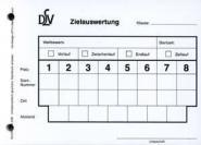 DLV-Vordruck - Zielauswertungsblock