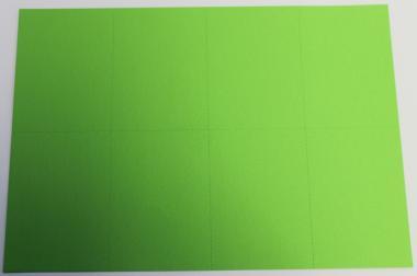 Stellplatzkartenbogen Grün