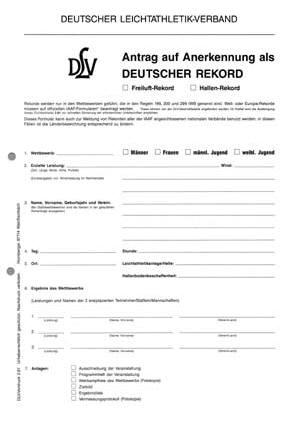 Rekordprotokoll